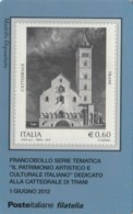 TESSERA FILATELICA VALORE 0,6 EURO TRANI (FY226 - Filatelistische Kaarten