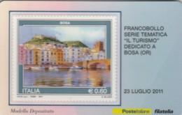 TESSERA FILATELICA VALORE 0,6 EURO BOSA (FY235 - Filatelistische Kaarten