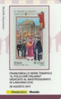 TESSERA FILATELICA VALORE 0,6 EURO MASTROGIURATO (FY236 - Filatelistische Kaarten