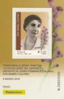 TESSERA FILATELICA VALORE 0,95 EURO EVA MAMELI CALVINO (FY561 - Filatelistische Kaarten