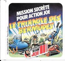 AUTOCOLLANT-PUB-1980JOUETS-GROUP ACTION JOE 9x9 Cm-TBE NEUF-RARE - Stickers