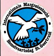 Sticker - Internationale Margratentocht - Hemelvaartsdag St. Geertruid - Stickers