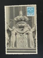 Carte Maximum Card Armoiries De La Ville Monaco 1943 - Cartoline Maximum