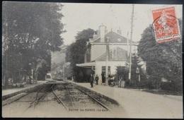 25 CPA BAUME LES DAMES LA GARE 1909 - Baume Les Dames