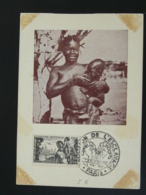 Carte Maximum Card Centenaire Abolition De L'esclavage Mère Et Enfant Allaitement Paris 1948 - Maximum Cards