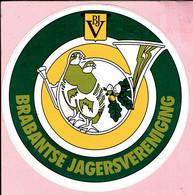 Sticker - B.J.V. - BRABANTSE JAGERSVERENIGING - Stickers