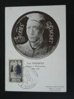 Carte Maximum Card Jean Fouquet Peintre Medieval Journée Du Timbre Tours 37 Indre Et Loire 1948 - Cartes-Maximum