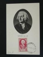 Carte Maximum Card Marquis De Dupleix Compagnies Des Indes History Of India Landrecies 59 Nord 1950 - 1950-59