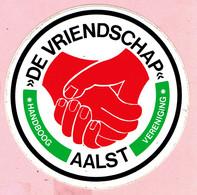 Sticker - De Vriendschap Aalst - Handboog Vereniging - Stickers