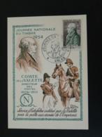 Carte Maximum Card Comte De La Valette Franc-maçon Poste Aux Armées De Napoleon Journée Du Timbre 13 Arles 1954 - Franc-Maçonnerie