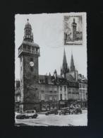 Carte Maximum Card Jacquemart De Moulins 03 Allier 1955 - Orologeria