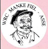 Sticker - WRC MANKE FIEL - ASSE - Aufkleber