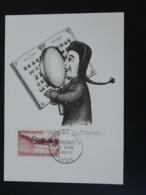 Carte Commemorative Card Marionnette Puppet Guignol Bimillénaire De Lyon 1957 - Marionnettes