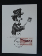 Carte Commemorative Card Marionnette Puppet Gnafron Bimillénaire De Lyon 1957 - Marionnettes