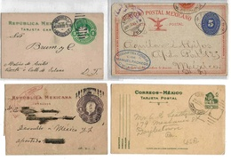 Mexique Mexico Lot Entier ( X 5 ) Entero Stationary Ganzsache Lettre Cover Tajeta Postal - Mexique