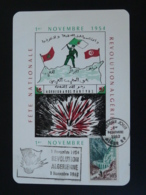 Carte Maximum Card Révolution Algérienne Algérie 1962 - Algeria (1962-...)