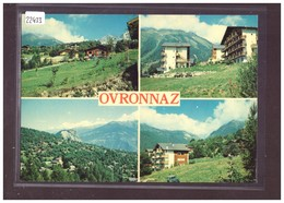 FORMAT 10x15cm - OVRONNAZ - TB - VS Valais