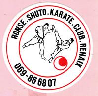 Sticker - RONSE - SHUTO - KARATE - CLUB - RENAIX - Stickers