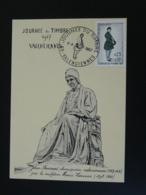 Carte Maximum Card Jean Froissart Chroniqueur Medieval Journée Du Timbre Valenciennes 59 Nord 1967 - Journée Du Timbre