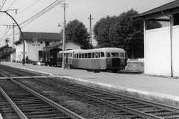 Facture. Economiques De Gironde. Autorail De 1ère Classe De Dion-Bouton M11. Cliché Jacques Bazin. 30-08-1958 - Eisenbahnen