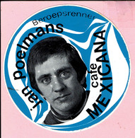 Sticker - Beroepsrenner Jal Poelmans - Café MEXICANA - Hever Brabant Bonheiden - Stickers