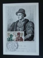 Carte Maximum Card Roi King Louis XI Moyen Age Middle Age Medieval 21 Dijon 1969 - Königshäuser, Adel