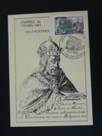 Carte Maximum Card Baudouin De Constantinople Medieval Moyen Age Journée Du Timbre Valenciennes 59 Nord 1969 - Sonstige
