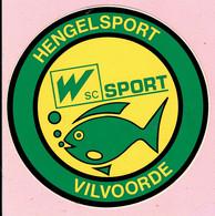 Sticker - HENGELSPORT - VILVOORDE - W Sc SPORT - Stickers