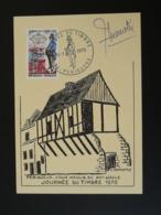 Carte Maximum Card Vieux Moulin Du 16ème Siècle Journée Du Timbre Périgueux 24 Dordogne 1970 - Moulins