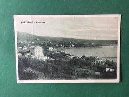 Cartolina  - Portorose - Panorama - 1927 - Cartoline