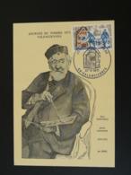 Carte Maximum Card Peintre Henri Harpignies Journée Du Timbre Valenciennes 59 Nord 1971 - Journée Du Timbre