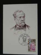 Carte Maximum Card Louis Pasteur Dole 39 Jura 1973 - Louis Pasteur