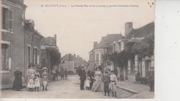 18 ALLOGNY  -  La Grande Rue Et Les 4 Routes ( à Gauche L'ancienne Prison)  - - France