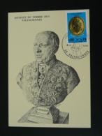 Carte Maximum Card Henri Wallon Journée Du Timbre Valenciennes 59 Nord 1975 - Médecine
