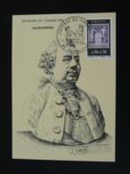 Carte Maximum Card Sculpteur Jacques Saly Journée Du Timbre Valenciennes 59 Nord 1975 - Journée Du Timbre