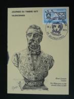 Carte Maximum Card Sculpteur Henri Lemaire Journée Du Timbre Valenciennes 59 Nord 1977 (ex 2) - Journée Du Timbre