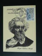Carte Maximum Card Peintre Alphonse Chigot Journée Du Timbre Valenciennes 59 Nord 1978 - Journée Du Timbre