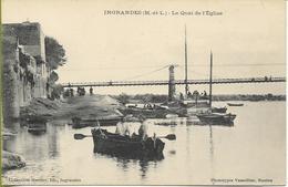INGRANDES (Maine Et Loire) Le Quai De L'Eglise - Autres Communes