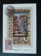 Carte Maximum Card Messager Royal Louis XII Medieval Histoire Postale 68 Riquewihr 1979 - Maximumkarten