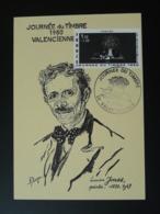 Carte Maximum Card Peintre Lucien Jonas Journée Du Timbre Valenciennes 59 Nord 1980 - Journée Du Timbre