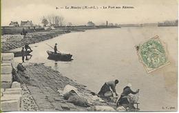 LA MENITRE   Le Port Aux Ablettes (lavandières, Bateau...) - Other Municipalities