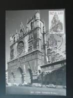 Carte Maximum Card Cathédrale St-Jean Lyon Medieval 69 Rhone 1981 - Churches & Cathedrals