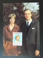 Carte Maximum Card Princesse Marie-Astrid Luxembourg 1982 - Cartes Maximum