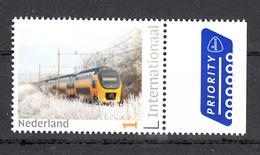 Trein, Train, Locomotive, Eisenbahn : Nederland, Persoonlijke Internationaal, NS VIRM In De Sneeuw - Eisenbahnen