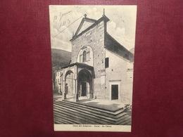 Cartolina Linea Del Sempione - Varzo - La Chiesa - 1913 - Verbania