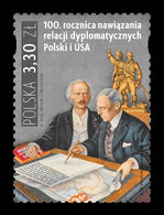 Poland 2019 Mih. 5180 Diplomatic Relations With USA MNH ** - Nuevos