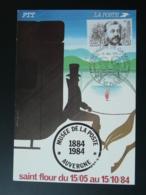 Carte Maximum Card Centenaire Viaduc De Garabit Gustave Eiffel St-Flour 15 Cantal 1984 - Ponti