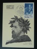 Carte Maximum Card Compositeur Composer Edmnd Membrée Journée Du Timbre 1984 Valenciennes 59 Nord - Musique