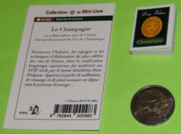 Mini-Livre - Les Vins LE CHAMPAGNE - 2002 - Books, Magazines, Comics