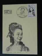 Carte Maximum Card Madame D'Epinay Journée Du Timbre 1985 Valenciennes 59 Nord - Ecrivains